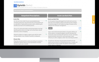 MDCalc Launches EM Guideline Summaries